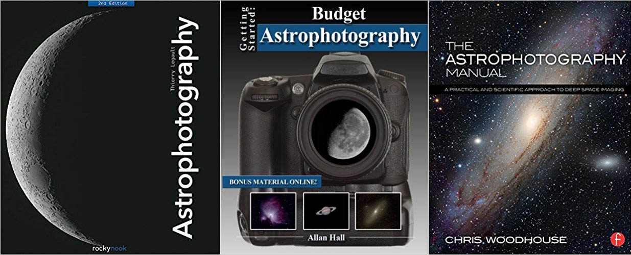 Best Astrophotography Books : Getting started with imaging