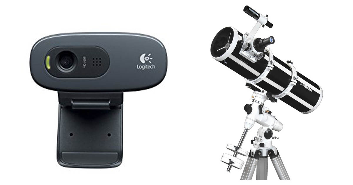 Best webcam for astrophotography 2018   Astrophotography